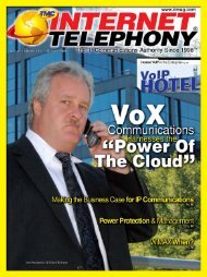 """""""Power of the Cloud"""" to Deliver VoIP Solutions - Internet Telephony ..."""
