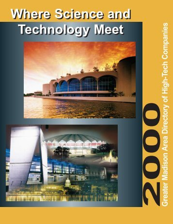 2000 Greater Madison Area Directory of High-Tech ... - MGE.com