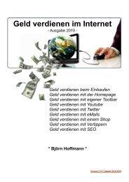 Geld verdienen im Internet - VERKAUF - Downloads Kostenlos .de
