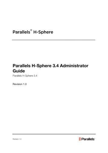 Configuration - SiteStudio - Parallels