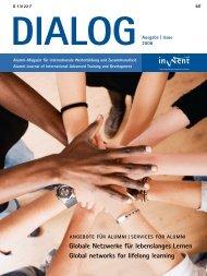 Die Nachkontakt-Zeitschrift DIALOG gab Inwent bis ... - global connect