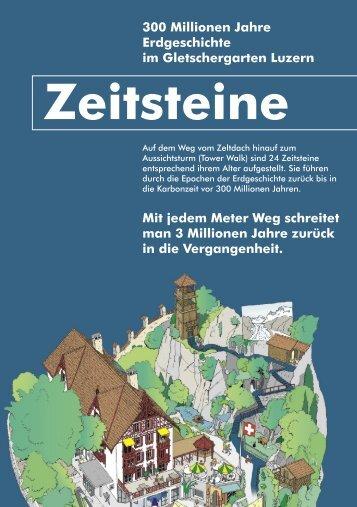 Zeitsteine - Gletschergarten Luzern