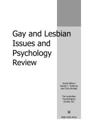 GLIP Review Vol 7 No 2 - APS Member Groups - Australian ...