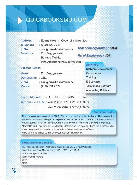 PROXYCOM LTD Address : 4
