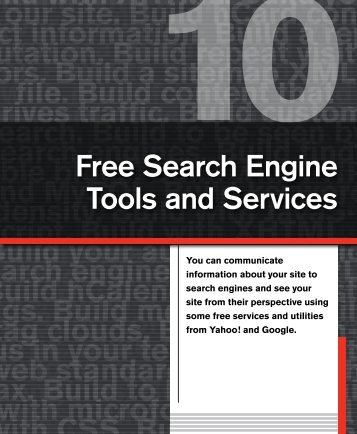 Build search engine friendly URLs. - Building Findable Websites