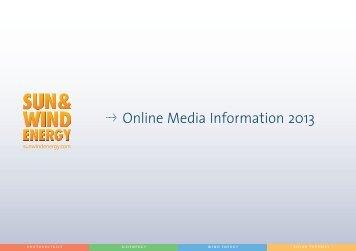 Q Online Media Information 2013 - BVA Bielefelder Verlag