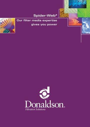 Spider-Web® - Donaldson Company, Inc.
