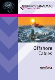 Offshore Cables - Mega Ex (Thailand) Company Limited.