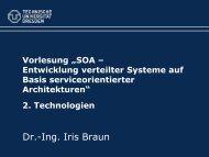 """Vorlesung """"SOA – Entwicklung verteilter Systeme auf Basis ..."""