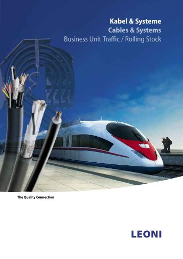 Kabel & Systeme Cables & Systems Business Unit Traffic / Rolling ...