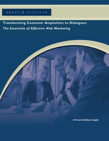 Transforming Customer Acquisition to Dialogues - Growth ...