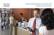 Cisco Produktleitfaden für kleine und mittlere ... - IT-Business