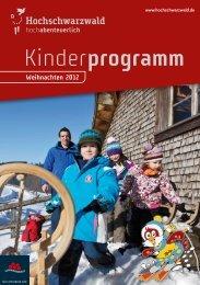 Kinderprogramm - Vier Jahreszeiten
