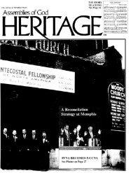 Assemblies of God Heritage - Flower Pentecostal Heritage Center