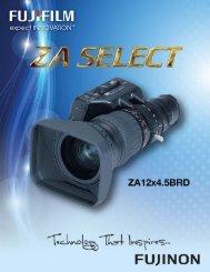 ZA Select 12x4.5BRD.pdf - Fujifilm USA