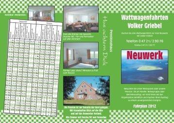Neuwerk - Hus achtern Diek