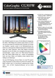 Colorgraphic CG303W - NETMANAGER - Eizo