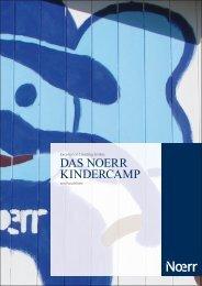 2011_05_18 Broschüre Kindercamp.indd - Noerr
