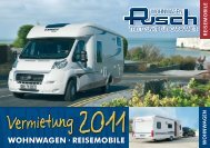 WOHNWAGEN · REISEMOBILE - Pusch Wohnwagen