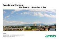 Huobweid, Hünenberg See - Jego AG