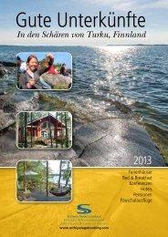 Unser 2013 Katalog - Suomen Saaristovaraus Oy
