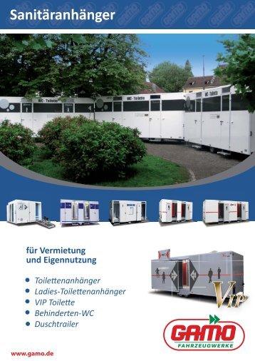 Mobile Toiletten - Sanitär- und Duschfahrzeuge.pdf - GAMO ...