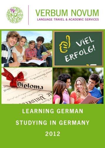 Catalogue 2012 English - Verbumnovum.de