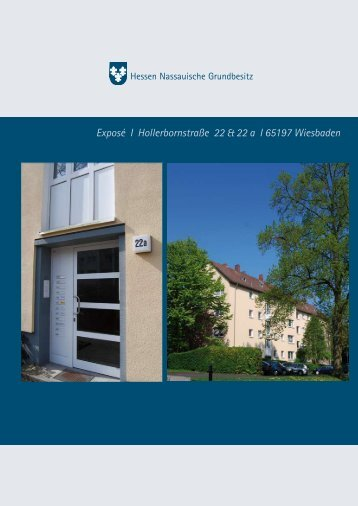 Exposé I Hollerbornstraße 22 & 22 a I 65197 Wiesbaden - Die HNG ist