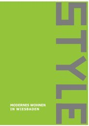 MODERNES WOHNEN IN WIESBADEN