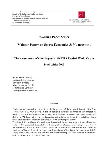 the economics of the cricket sport economics essay Our a level economics grade booster workshops are designed to provide essential revision support to all a level economics students as they complete their preparation for the three terminal papers learn more .