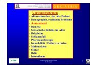 GERIATRISCHES Assessment (ABSTRACT - SciVal
