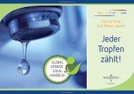 Tipps und Tricks zum Wassersparen - Landeshauptstadt Wiesbaden