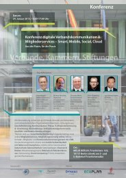 Konferenz digitale Verbandskommunikation ... - Xpoint0