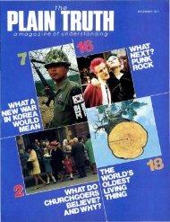 Plain Truth 1977 (Prelim No 10) Dec - Herbert W. Armstrong