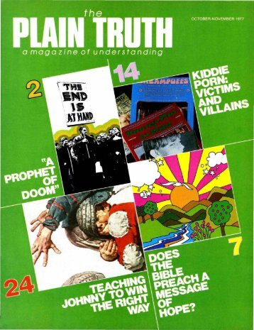 Plain Truth 1977 (Prelim No 09) Oct-Nov - Herbert W. Armstrong