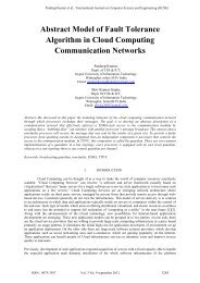 Abstract Model of Fault Tolerance Algorithm in Cloud Computing ...