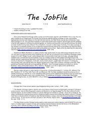 The JobFile - Illinois News Broadcasters Association