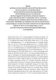 Satzung des Wasserverbandes Süderdithmarschen (WV ...
