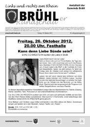 Bruehl gesamt kw 42 - Gemeinde Brühl