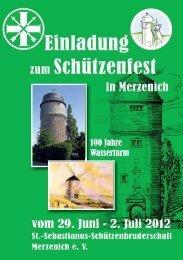 100 Jahre Wasserturm - St.-Sebastianus-Schützenbruderschaft ...