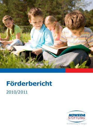 Förderbericht - Noweda