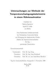 Untersuchungen zur Methode der ...