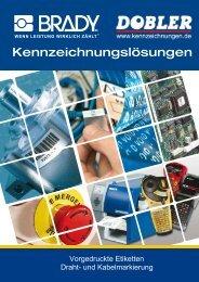 Katalog Kabelmarkierer bedruckt - Dobler GmbH Dobler GmbH