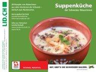 Minibroschüre Suppenküche - Landwirtschaftlicher Informationsdienst