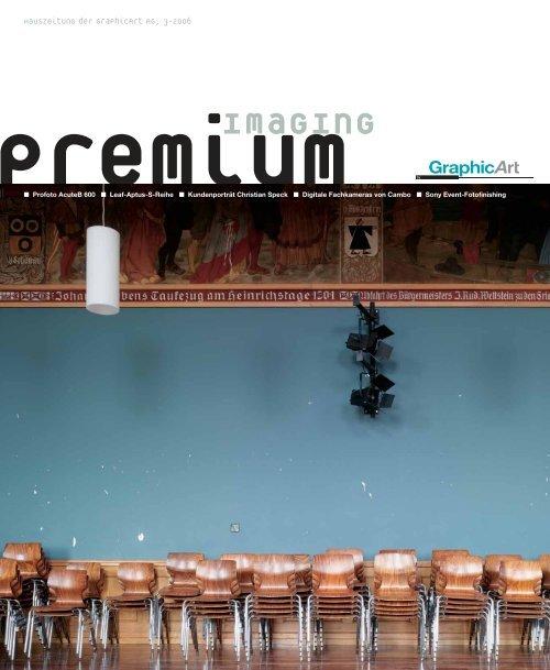 premium imaging 3-2006 | Deutsch - Graphicart AG
