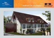 Landhaus im «Schwyler» - Göldi & Partner Immobilien