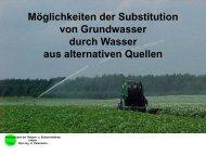 Bewässerungsverband Uelzen Wasserspeicher Stöcken - Agritechnica