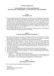 WOJEWODSCHAFT WESTPOMMERN Artikel 1 Anwendungsber