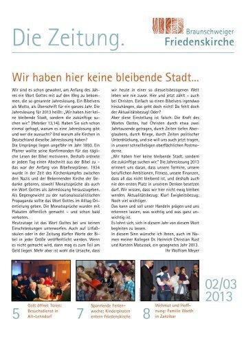 BSFK - Die Zeitung - 01/2013