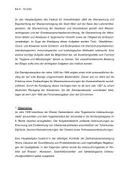 vgl. Tätigkeitsbericht 2003 - Kontrollamt der Stadt Wien